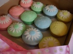 Daisy Chain Cupcake Box