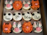 It's a Jungle Out There! Cupcake Box
